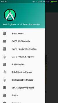 Civil Engineering Exam Guru screenshot 1