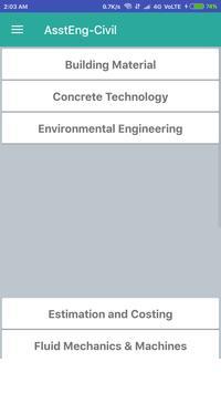 Civil Engineering Exam Guru screenshot 4