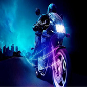 Cross Moto Driver Modern icon