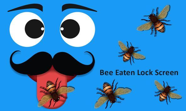 Bee Eaten Lock Screen poster