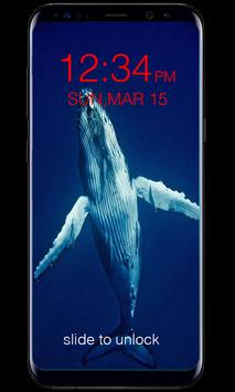 Blue Whale Lock Screen screenshot 3