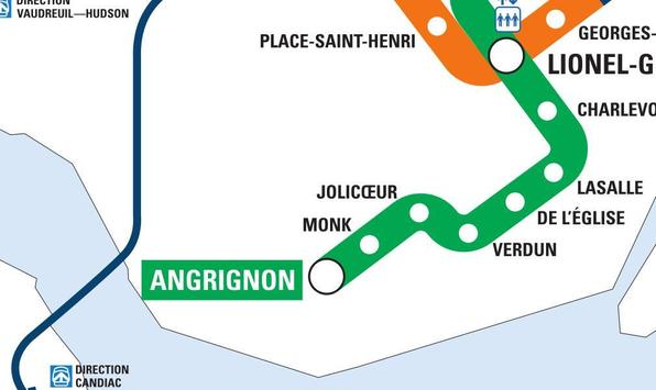 Montreal Metro screenshot 1