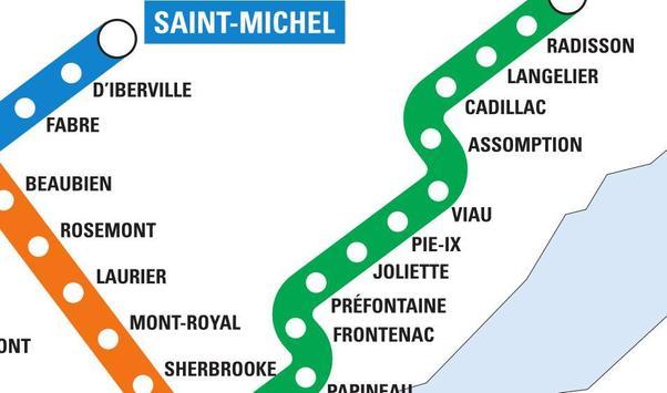 Montreal Metro screenshot 2