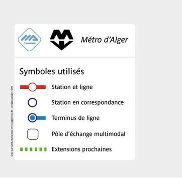 Algiers Metro poster