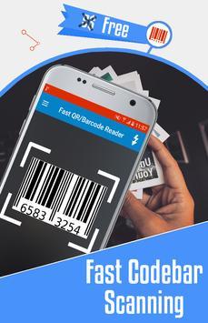 Fast QR Scanner: Barcode Reader & QR Scanner apk screenshot
