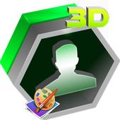 3D Contacts List icon