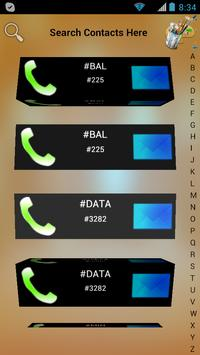 3D Contacts List poster