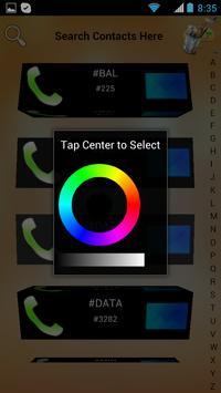 3D Contacts List apk screenshot