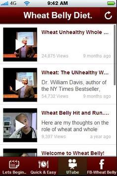 Wheat Belly Diet Tips. apk screenshot