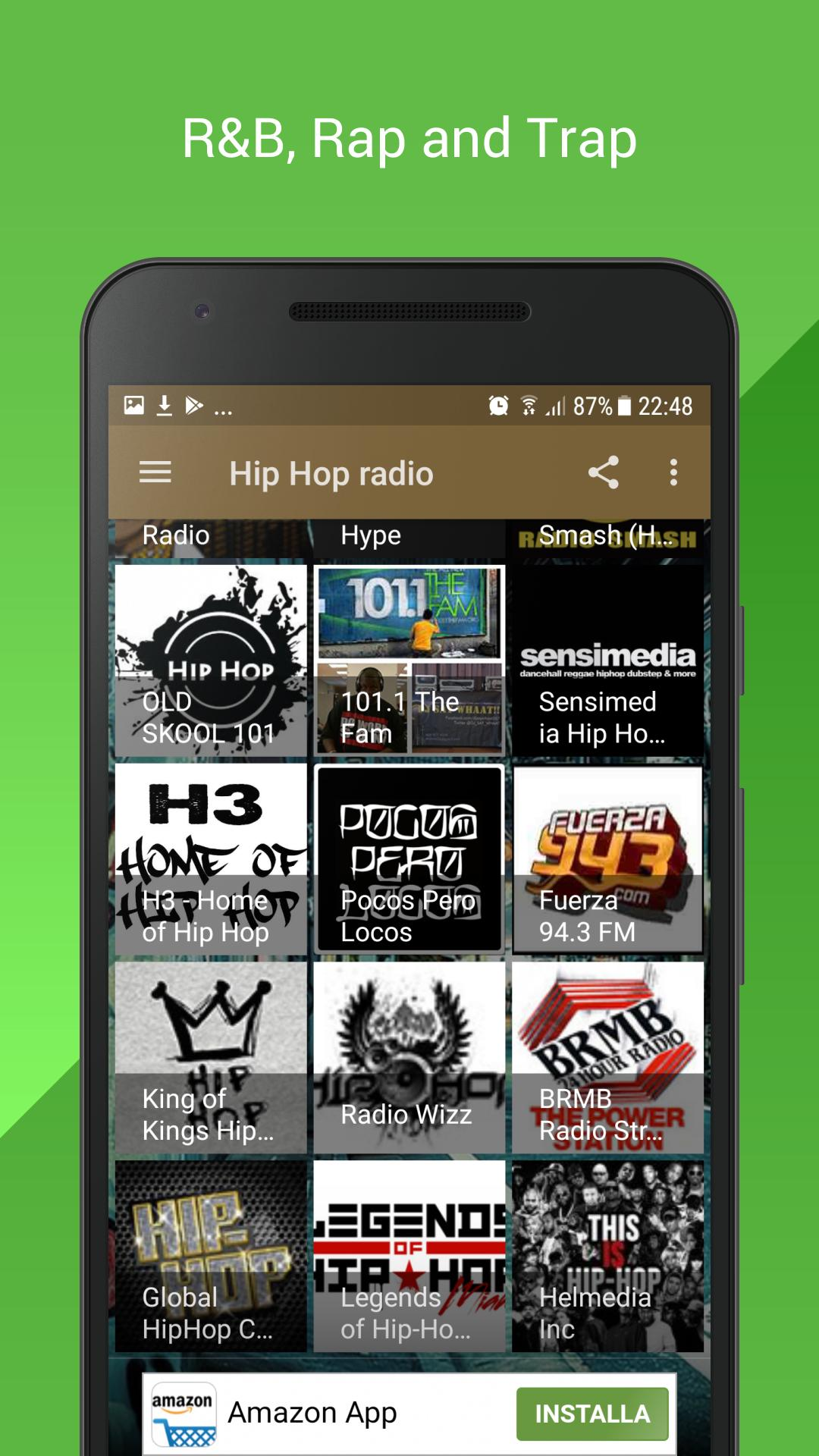 HIP HOP R&B RAP TRAP OLD RADIO for Android - APK Download