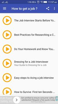 How to get a Dream Job? poster