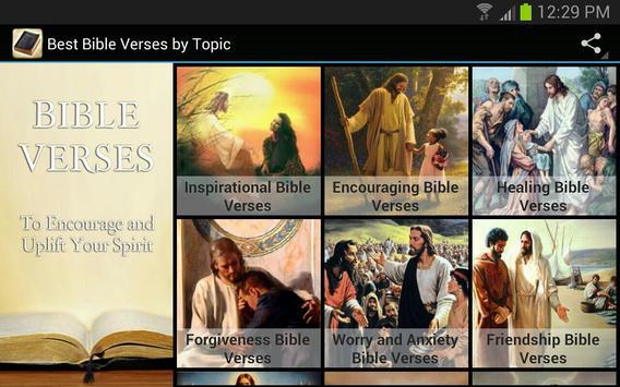 Best Bible Verses By Topic apk screenshot