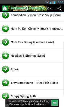 Cambodia Cooking apk screenshot