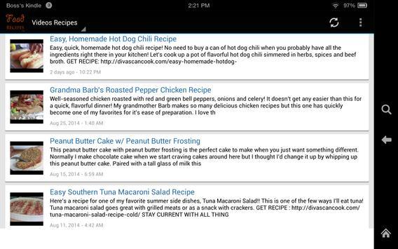 Food Recipes screenshot 4