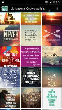 Motivational Quotes Wallpapers apk screenshot