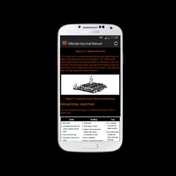 Ultimate Survival Manual apk screenshot