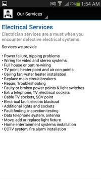 Electrician In Singapore screenshot 1