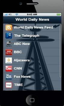 World Daily News apk screenshot