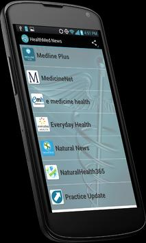 HealthMed News apk screenshot