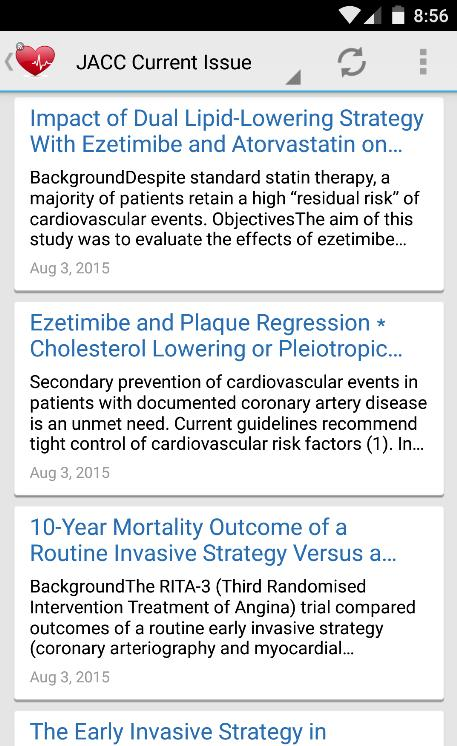 Cardiology Journal Feeds for Android - APK Download