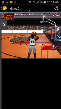 Basketball Games App screenshot 2