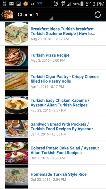 Turkish food recipe app descarga apk gratis comer y beber turkish food recipe app captura de pantalla de la apk forumfinder Images