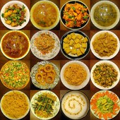 Indian Food Recipe App icon