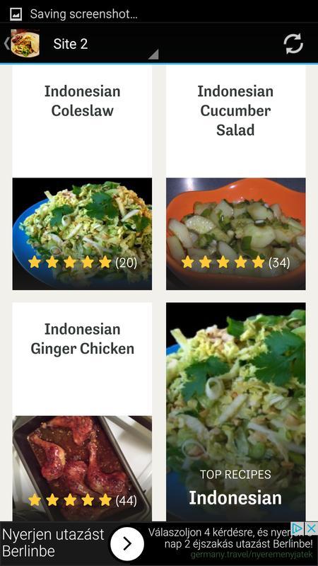 Indonesian food recipes app apk download free food drink app for indonesian food recipes app apk screenshot forumfinder Gallery