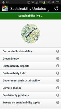 Sustainability Updates apk screenshot