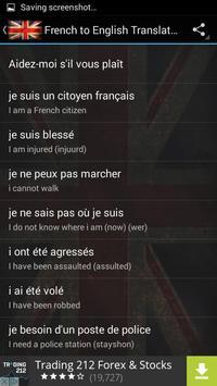 French to English Translator poster