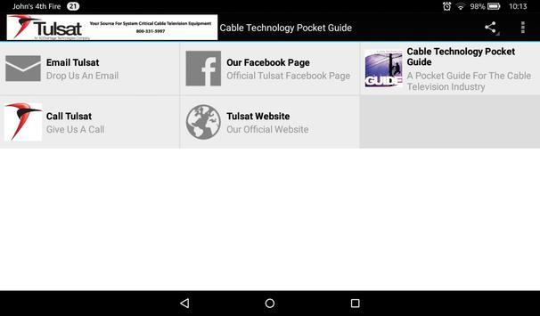 Tulsat-Cable Equipment apk screenshot