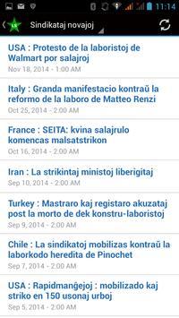 LabourStart - Esperanto apk screenshot