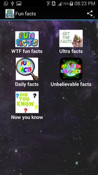 Fun Facts poster