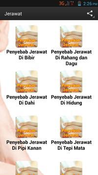 Info Jerawat poster