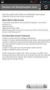 Info Jerawat apk screenshot