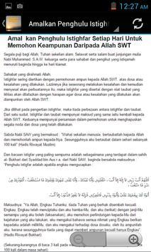 Sayyidul Istighfar apk screenshot