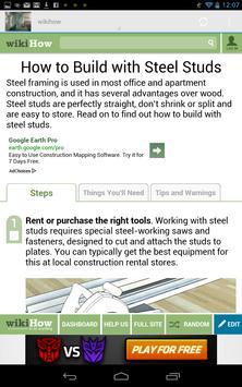 How to frame Steel Stud screenshot 6