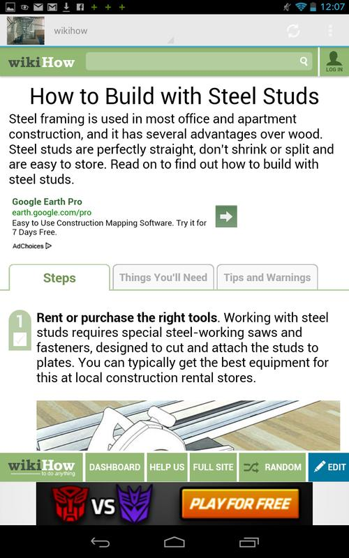How to frame Steel Stud APK Download - Free Tools APP for Android ...