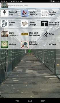How to frame Steel Stud screenshot 8