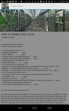 How to frame Steel Stud apk screenshot