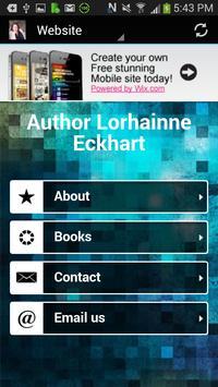 Author Lorhainne Eckhart screenshot 2