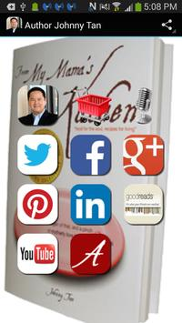 Author Johnny Tan poster