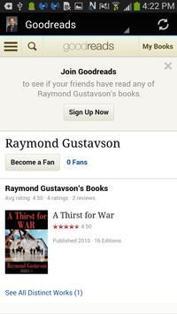 Author Raymond Gustavson apk screenshot