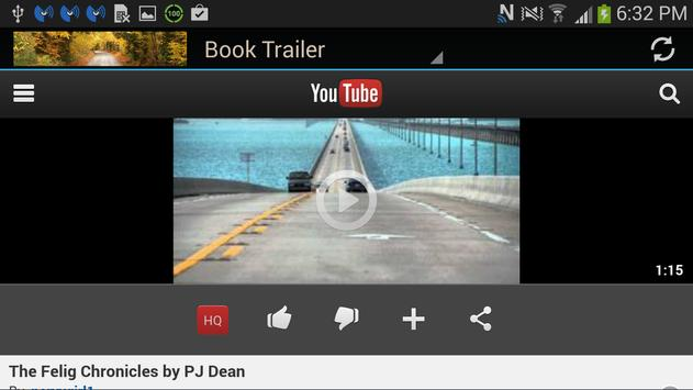 Author P. J. Dean apk screenshot