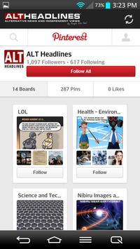 Pocket Alt Headlines apk screenshot
