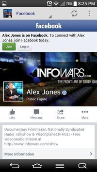 Alex Jones Mobile apk screenshot