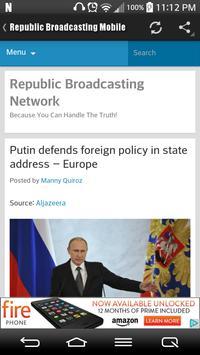 Republic Broadcasting Mobile apk screenshot