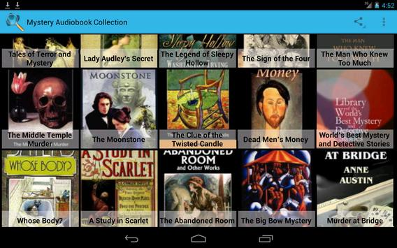 Mystery Audiobook Collection screenshot 1