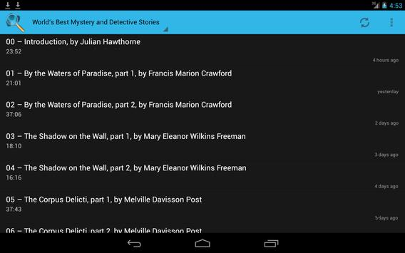 Mystery Audiobook Collection screenshot 3