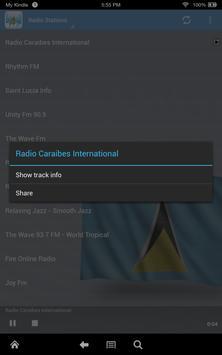 Saint Lucia Radio poster